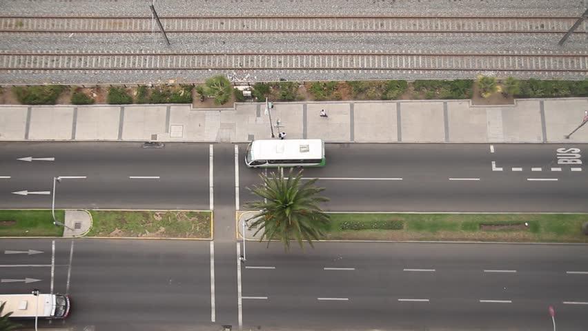Valparaiso, street - HD stock footage clip