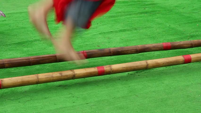 Philippine Bamboo Dance