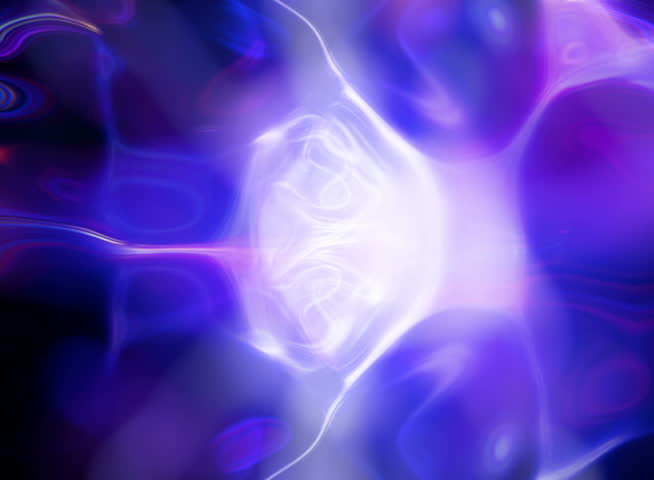 PAL - Video Background 2220: Abstract blue light patterns glow, ripple and shine (Loop). - SD stock footage clip