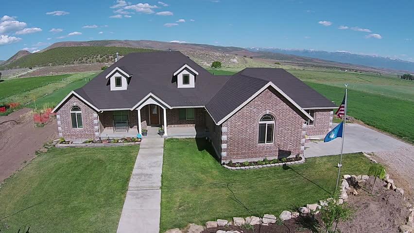 Fountain green utah jun 2014 aerial beautiful rural for Utah rural housing