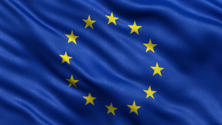 eu flag waving stock footage video 4537616 shutterstock