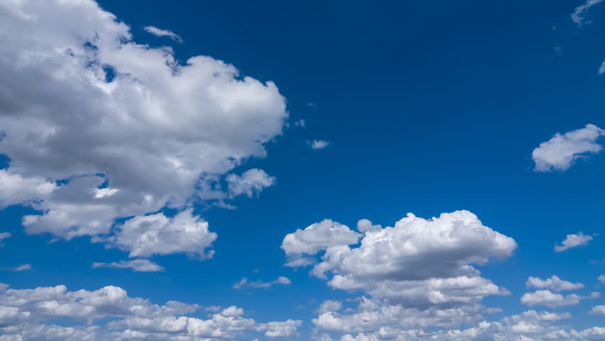 summer cloudy sky time lapse - HD stock footage clip