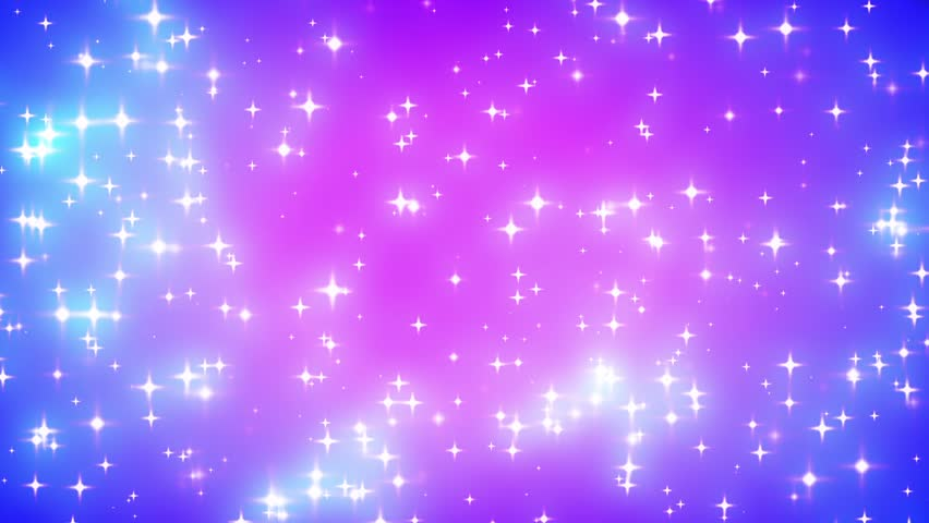 Pink Nebula Looping Glowing Stars Background 1 Fast Stock ...