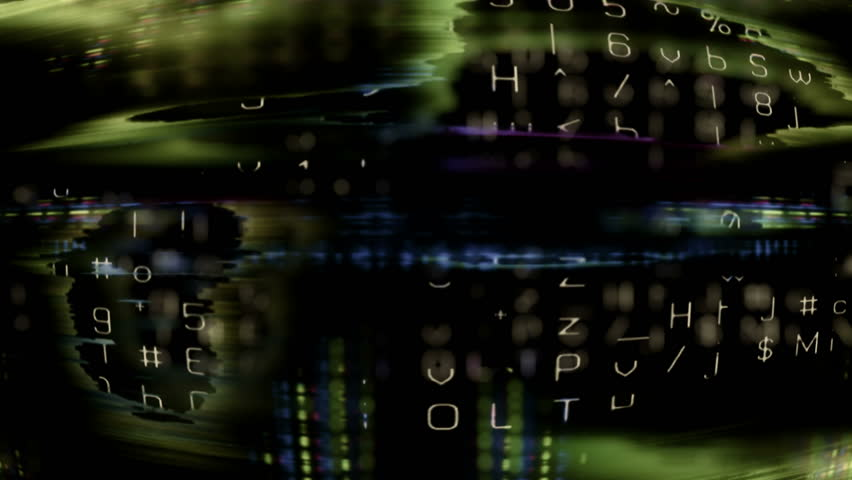 Future Tech 0104 - Futuristic technology digital data (loop).