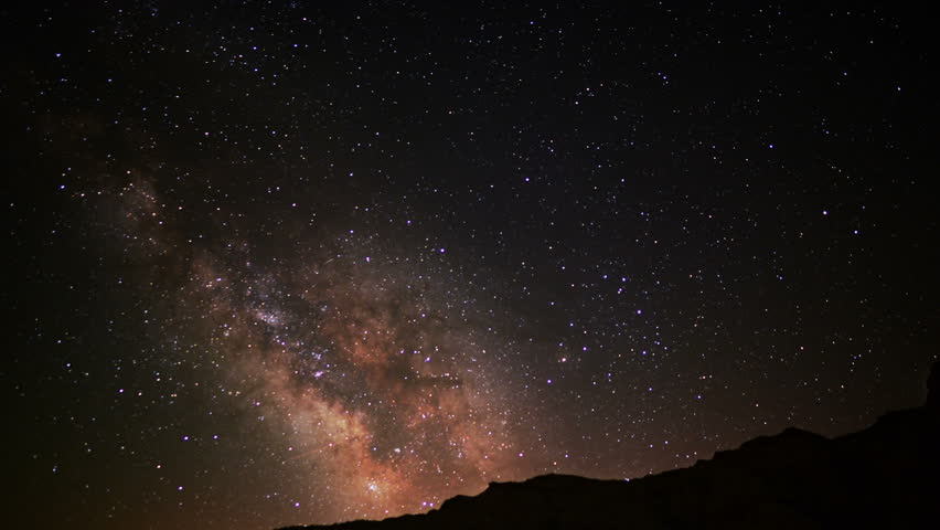 Death Valley Milkyway 02 Time Lapse Night Sky Stock ...