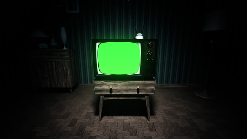 Old Fashioned Living Room Tv
