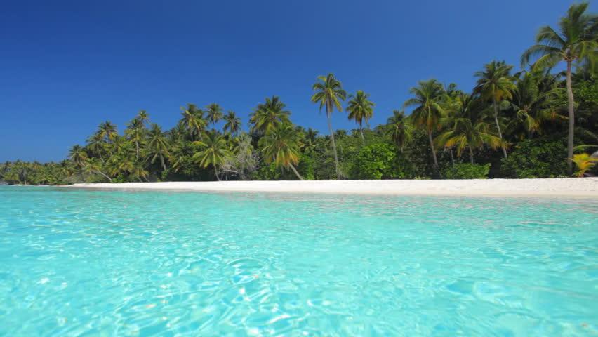 Lagoon Tropical Island