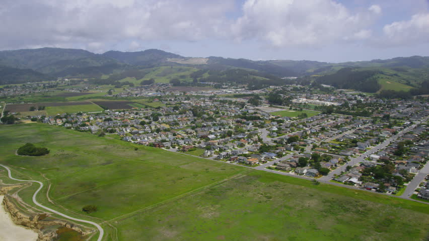 Aerial view from helicopter of california rural for Rural net cool ca