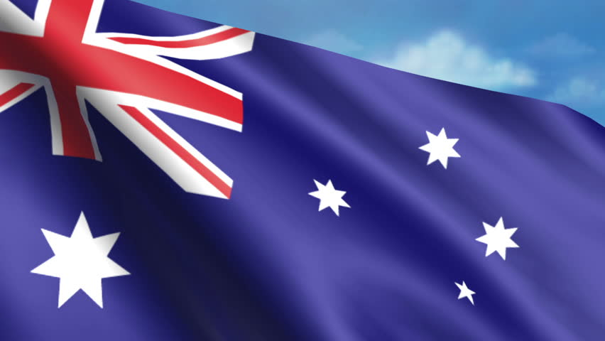 Australian Flag Animation – 4K Resolution Ultra HD