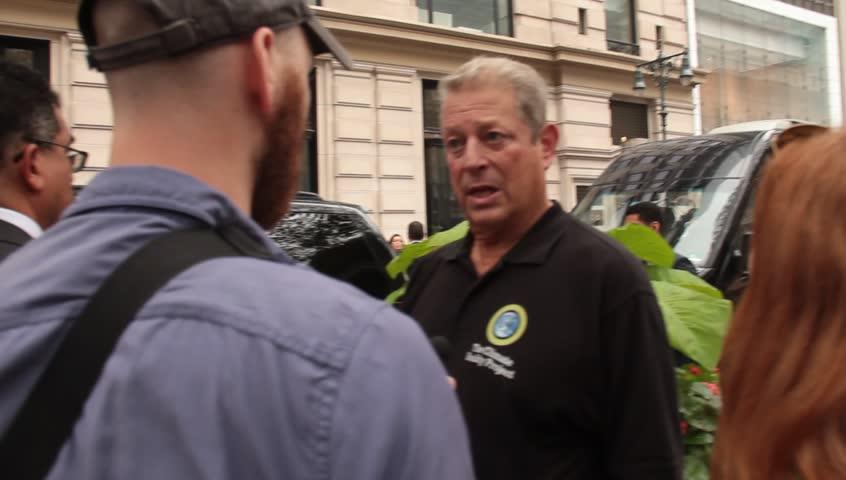 Header of Al Gore