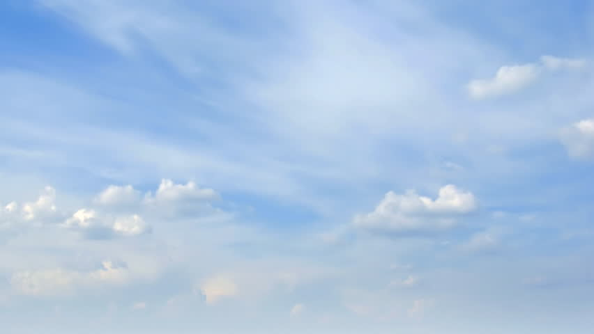 Loop of beautiful clouds. Time lapse HD  - HD stock video clip