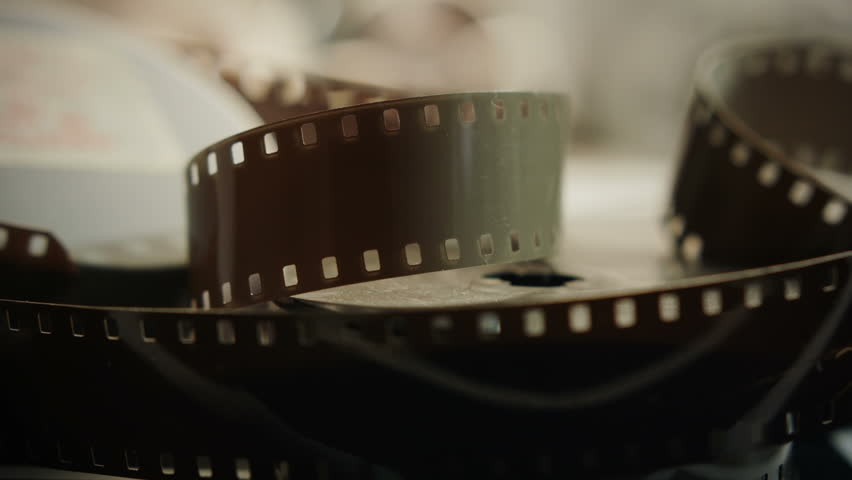 Vintage film stock HD stock footage. A superb collage of vintage Movie making materials ideal for a Film or Movie related presentation.