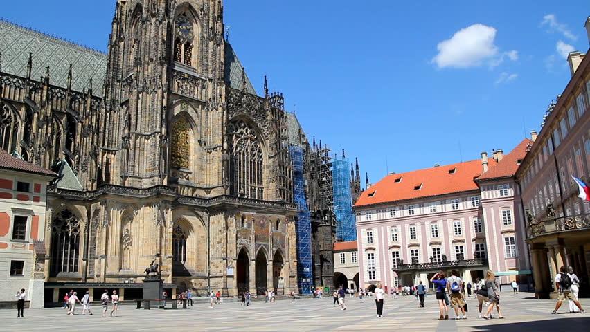 PRAGUE - Prague Castle  - HD stock video clip