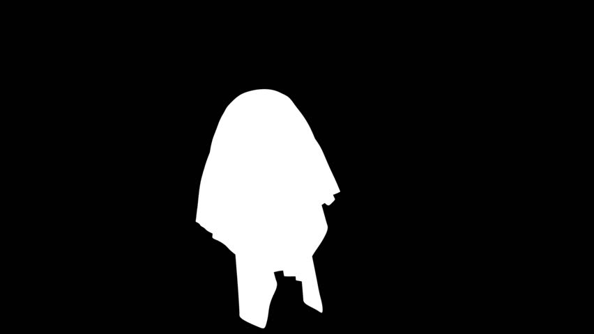 Ghost animation sc02 - HD stock footage clip