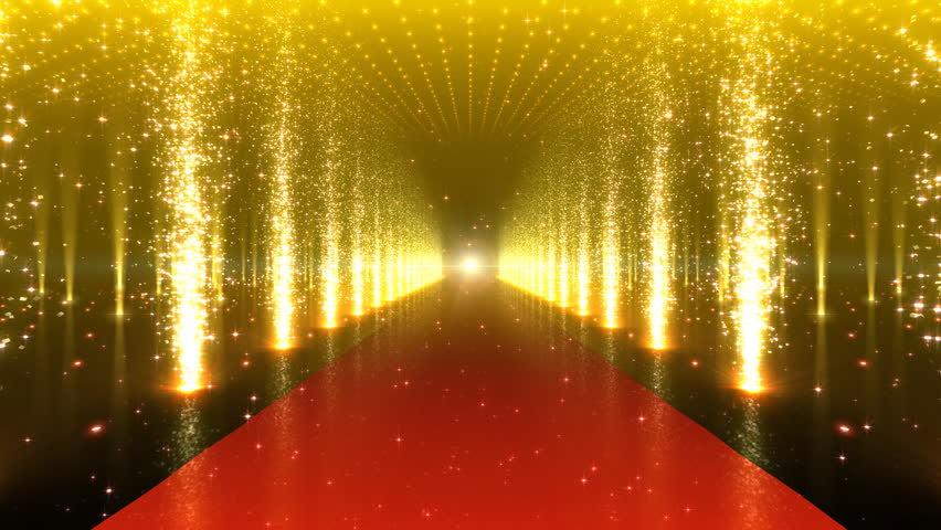 Red stage curtain with lights - Stage Lighting Background Gif Www Imgarcade Com Online
