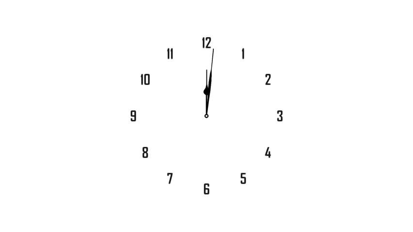 Clock time lapse full HD (1920x1080 30s 24Fps) | Shutterstock HD Video #9080141