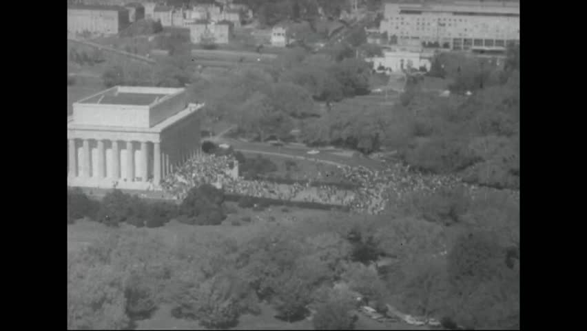 CIRCA 1960s - A mass protest against the Vietnam War at the Pentagon in 1967.