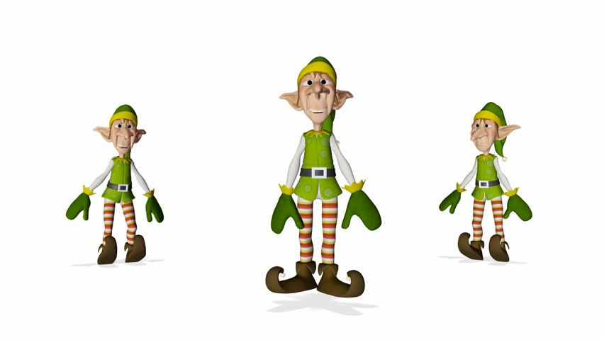 santa helper 3 elves hip hop dance