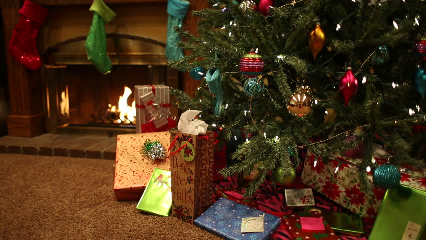 Christmas holiday scenes in home. Shot in Moreno Valley, California in December of 2013. | Shutterstock HD Video #9268151