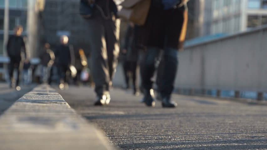 Pedestrians in slow motion in the city. Find similar clips in our portfolio.  - HD stock video clip