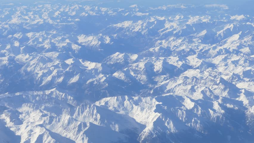 plane clouds and mountains - photo #17
