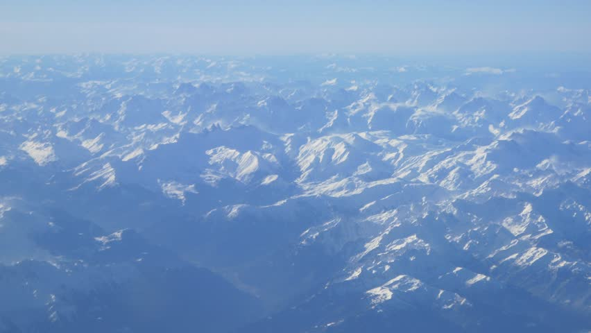 plane clouds and mountains - photo #8