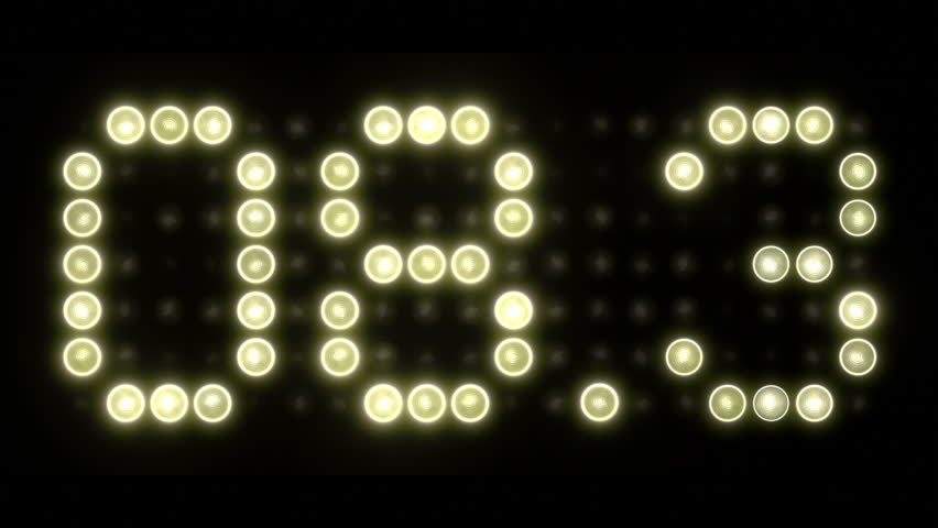 10 Second Scoreboard Countdown - Decimal | Shutterstock HD Video #9367502
