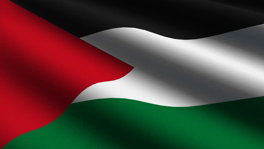 Palestine close up waving flag hd loop stock footage video 941791 shutterstock - Palestine flag wallpaper hd ...