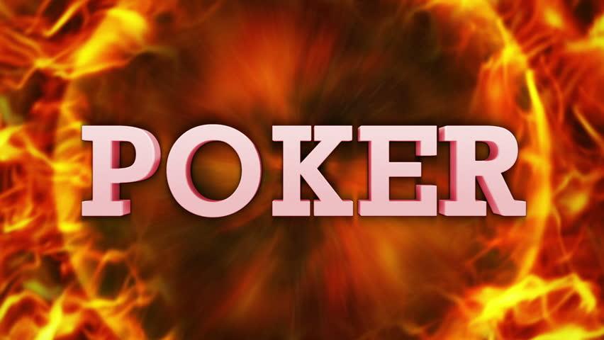 Poker footage