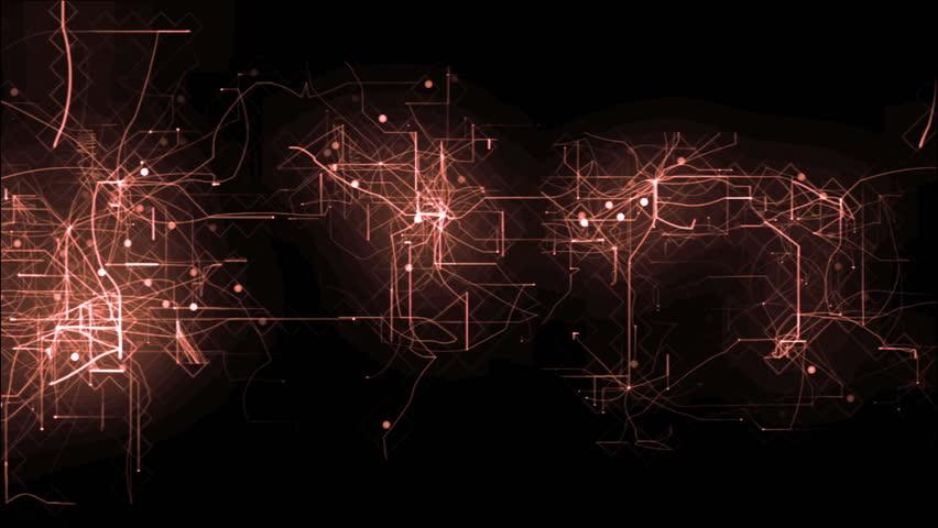 Animation of digital grid