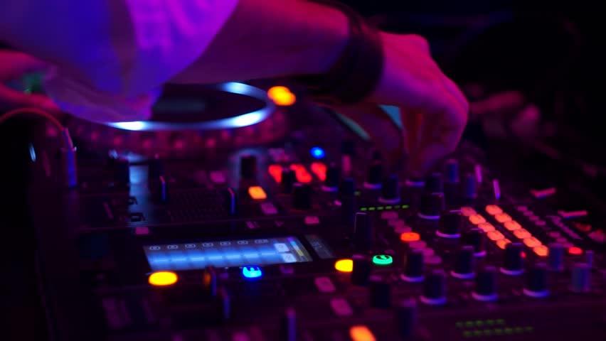 DJ At A Club Set | Shutterstock HD Video #9702905