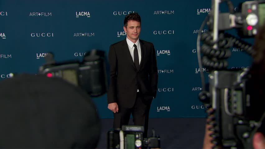 Los Angeles, CA - November 02,2013: James Franco at LACMA's Art + Film Gala 2013, LACMA