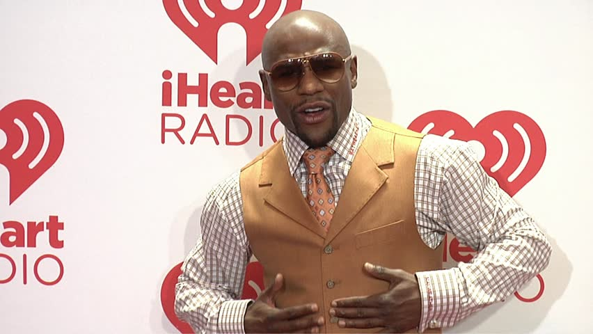 Las Vegas, NV - September 21,2013: Floyd Mayweather Jr at iHeartRadio Music Festival 2013, MGM Grand Hotel