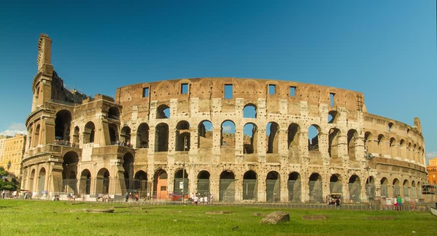 Colliseum Italy Rome Architecture Arena Coliseum Landmark Roman