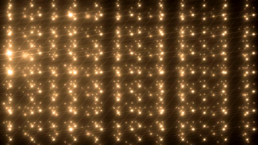 Bright beautiful orange flood lights disco background. Flood lights flashing. Seamless loop. More videos in my portfolio. | Shutterstock HD Video #9916754